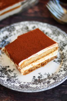 Τιραμισού χωρίς αυγά – Cool Artisan Tiramisu, Sweet Recipes, Sweets, Ethnic Recipes, Greek, Food, Instagram, Kitchens, Goodies