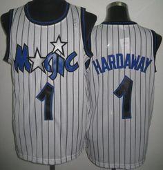 Orlando Magic 1 Penny Hardaway White Throwback Revolution 30 NBA Basketball  Jerseys 4dad5d753