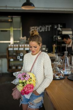 Flowers & Coffee - Gal Meets Glam