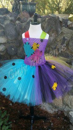 Nightmare girl inspired sally tutu dress or skirt by GirlyMoments