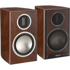 Monitor Audio Bookshelf Speakers GOLD 50 Bookshelf Speakers, Bookshelves, Hifi Audio, Home Automation, Home Theater, Monitor, Gold, Bookcases, Home Theaters