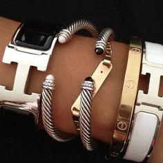 Accesssorize bracelets