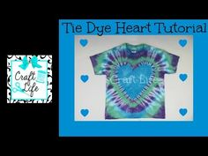Craft Life Heart Tie Dye Tutorial ~ Craft Life