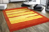 Gabbeh Indo - Multi stripe rug CVD6076 Ø200 - Find affordable rugs at RugVista