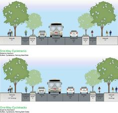 Protected Bike Lanes, Ped Safety Upgrades Proposed for Second Street | Streetsblog San Francisco
