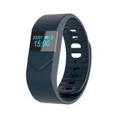 Moonfully M5 Smart Wristband Bluetooth 4.0 Bracelet with Sleep Monitor Fitness Tracker Intelligent Sports Watch Pedometer Calorie Counter for Android IOS iPhone Samsung Smartphone (Navy) >>> You can find more details by visiting the image link.