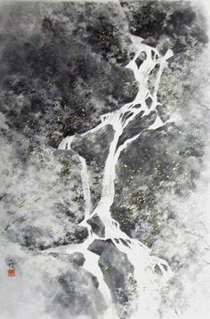 Kazue Kuyama 久山一枝 水墨画