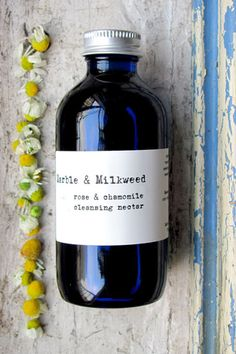 Marble and Milkweed cleansing nectar. Click through for 50 awesome Etsy finds!