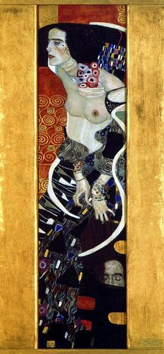 Gustav Klimt (1862-1918). Judith II (Salome). 1909. Oil on canvas. Cà Pesaro Galleria Internazionale d'Arte Moderna, Musei Civici Veneziani - Venice - Italy