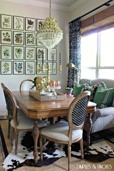 This WILL BE what my breakfast area will look like -KD 6.28.2015   Dimples and Tangles: OUR SUMMER HOME TOUR {2015}