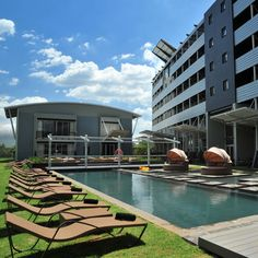 The Protea Hotel OR Tambo is a located near OR Tambo International Airport. The hotel decor was inspired by the look of an aircraft hanger; the hotel design is funky which makes it bright and fresh. Hotel Decor, Hotel Spa, Michelangelo Hotel, Kempton Park, Airport Hotel, The Province, International Airport, South Africa, Close Proximity