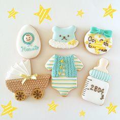 Baby#icingcookie#sugarcookie #icingcookies#sugarcookies #decoratedcookies #customcookies #babygift#babygirl #アイシングクッキー #出産祝い
