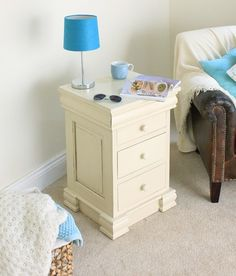 This Cadence Bedside Cabinet with Four Drawers is a part of Cadence and a great Lamp Table.  The dimension of this Cadence Bedside Cabinet with Four Drawers are as follows - the height is 76CM, the width is 45CM the depth is 42CM and the volume of this Cadence Bedside Cabinet with Four Drawers is 0.14CBM.  The International Article Number or EAN number is 5060164714569 and the weight is 25.00kg.  This Cadence Bedside Cabinet with Four Drawers is an authentic Baumhaus product and Bonsoni is…