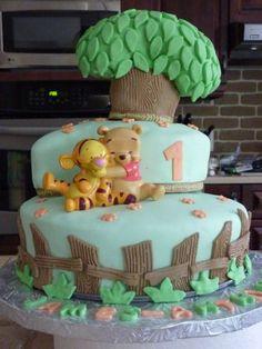 Gateau winnie the pooh