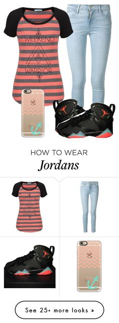"""""""Jamya"""" by myacole123 on Polyvore featuring Frame Denim, maurices, NIKE and Casetify"""