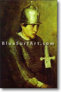 Knight - £124.99 : Canvas Art, Oil Painting Reproduction, Art Commission, Pop Art, Canvas Painting