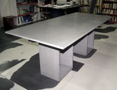 Ductal concrete table