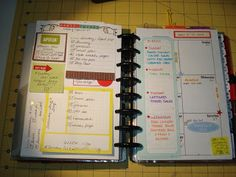 A Creative Operation: Planner Pages For Your Viewing Pleasure.... Layout inspiration