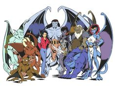 gargoyles tv show | View Full Version: Gargoyles