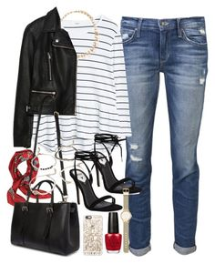 """Outfit for a daytime date"" by ferned ❤ liked on Polyvore featuring Joe's Jeans, MANGO, Forever 21, Valentino, Zara, Mulberry, Casetify, Windsor Smith, OPI and Witchery"