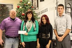 Thanks to QPS Employment Group for the Christmas donation to the Mission!