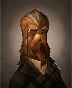 Oh, Chewy, you are my little gentleman. I'll take you to foggy London town 'cause you are my little gentleman.