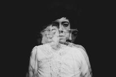 Entre Gulistan y Bostan - Rebecca Cairns self portrait Eerie Photography, Artistic Photography, Image Photography, Creative Photography, Portrait Photography, Exposure Photography, Contemporary Photography, Multiple Exposure, Double Exposure