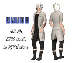Morphs available. It comes in all EAxis original colors + plus more. Noctis, Sims Cc, Character Concept, Science Fiction, Sci Fi, Things To Come, The Originals, Cas, Outfits