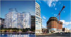 Construction on Herzog & de Meuron's 160 Leroy condominium tower in New York's West Village has nearly topped out, with 12 of its planned 15...