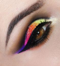 Tutorial – maquiagem com fusão de cores
