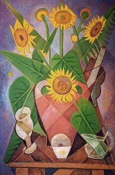 Cubist Sunflowers - Marevna (Marie Vorobieff)