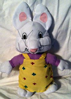 Max and Ruby .. Ruby and Max  #MaxandRuby #RosemaryWells #plushbunny #lovey