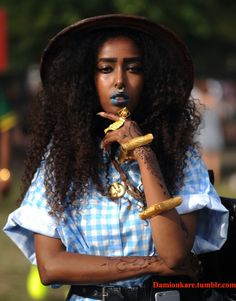 27 Photos of the Overwhelming Black Woman Beauty at the AfroPunk Festival