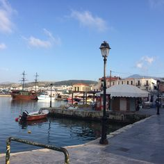 Charming port at Old town, Rethymnon (2015).