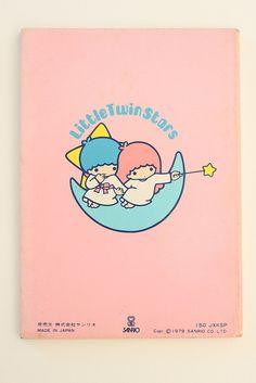 【1976】B5 Notebook ★Little Twin Stars★