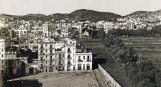 El límit nord de la plaça (Joanic) el marcava el llarg mur del jardí de Cal Comte