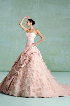 Pink Ballgown by Kittychen Couture