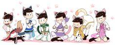 The Matsu Kittens Otaku, Laughing And Crying, Ichimatsu, Howls Moving Castle, Theme Song, Homestuck, Naive, Vocaloid, Kawaii Anime