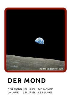 der Mond // la lune