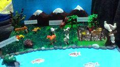 Maqueta animales  segun su alimentacion por Nadia Moreno