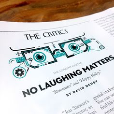 LEANDRO CASTELAO : THE NEW YORKER ::: Illustrations for The Critics section