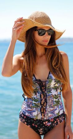 Nice: One-piece Swimsuit | Negin Mirsalehi by Negin Mirsalehi