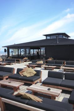 Roof terrace inspiration: Beachclub Republiek Bloemendaal