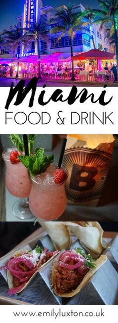 My guide to the top food and drink experiences in Miami – everything from Ocean Drive bar crawls to Miami food tours | #miami #travel #food