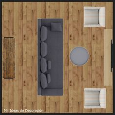 15 formas de distribuir los muebles en un salón cuadrado Muebles Living, Mirror, Rugs, Furniture, Home Decor, Houses, Trendy Tree, Home, Shapes