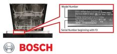 BSH Home Appliances Recalls Dishwashers Due to Fire Hazard.  Bosch, Gaggenau, Kenmore Elite and Thermador Dishwashers.  The power cord can overheat, posing a fire hazard.