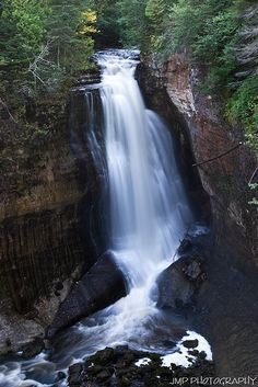 Miners Falls, Pictured Rocks National Lakeshore Alger County, Michigan