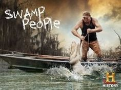 """Shoot 'em, Liz!"" Swamp People"