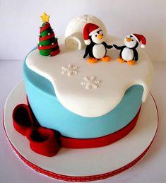 Торт из Мастики на Новый Год - mimege.ru