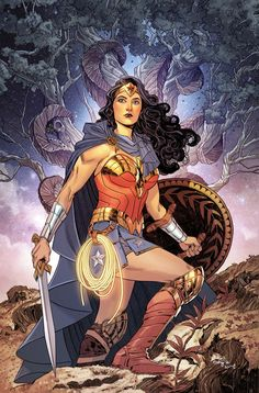 Wonder Woman #16 - Cover by Bilquis Evely                                                                                                                                                                                 More